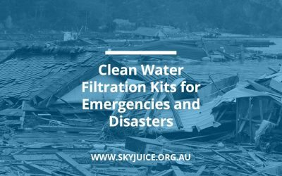 Clean Water Filtration Kits for Emergencies and Disasters