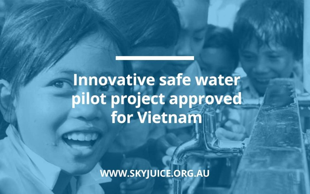 Innovative safe water pilot project approved for Vietnam