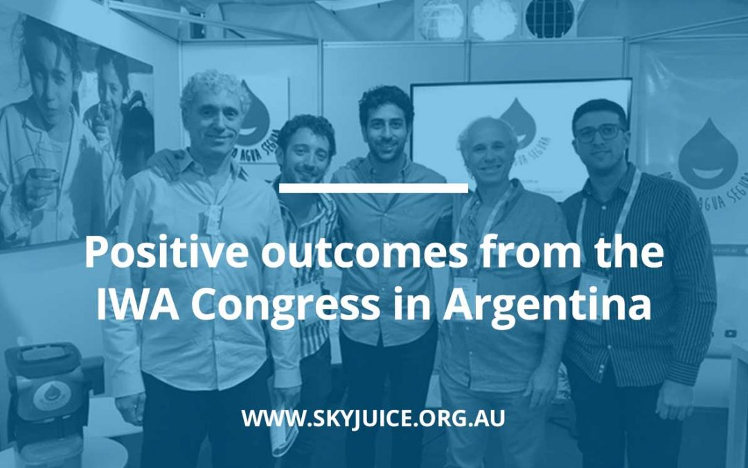 Positive outcomes from the IWA Congress in Argentina