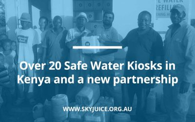 Over 20 Safe Water Kiosks in Kenya and a new partnership