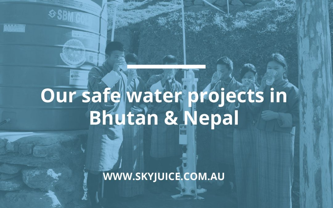 Safe Drinking Water for School Children in Bhutan