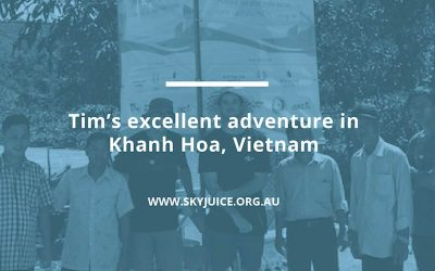 Tim's excellent adventure in Khanh Hoa, Vietnam