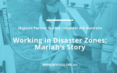 Disaster Aid Australia- Working in disaster zones; Mariah's Story